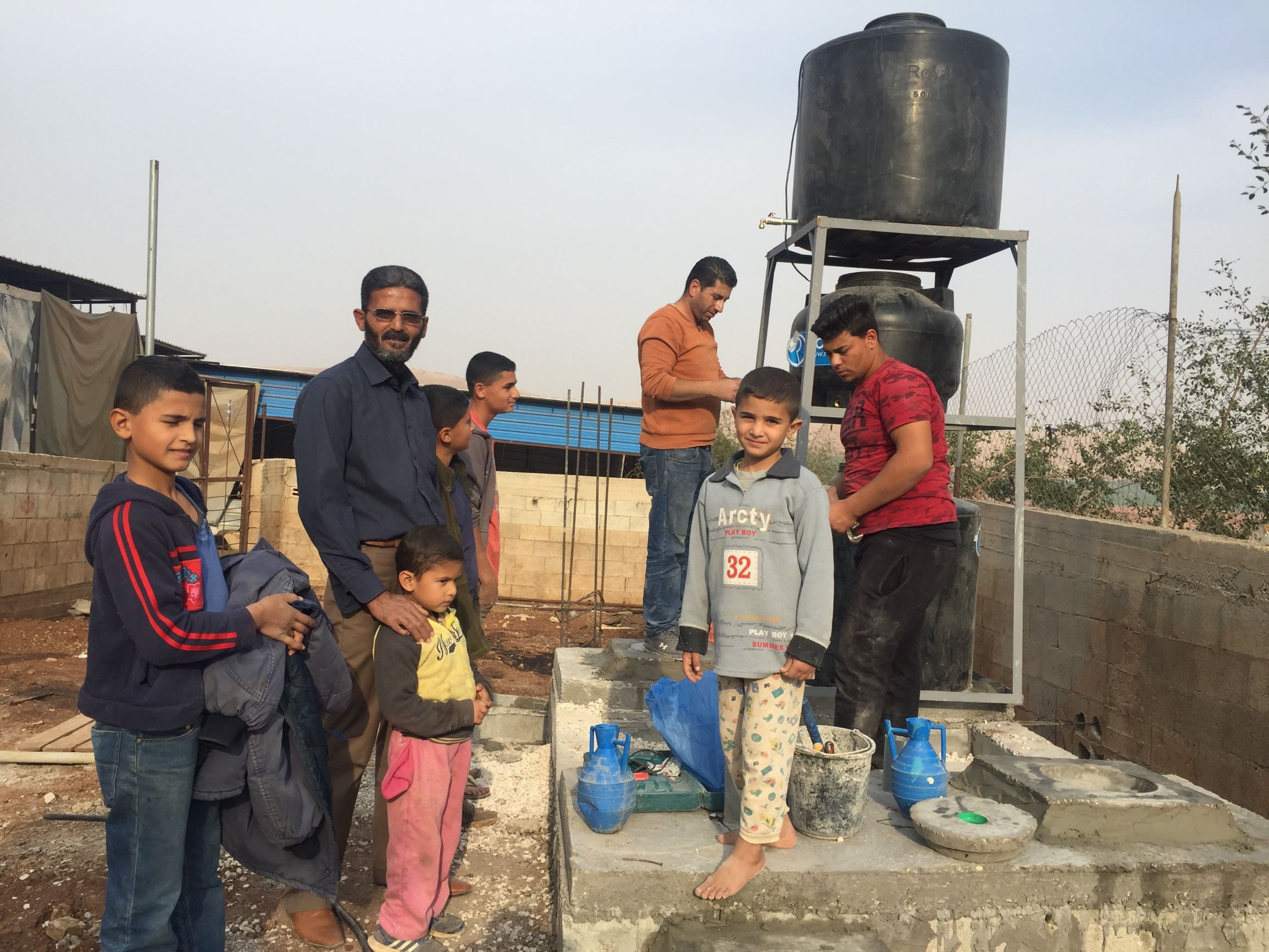 Installation of Small Scale Greywater Treatment Plants in Atuf-Tubas Governorate